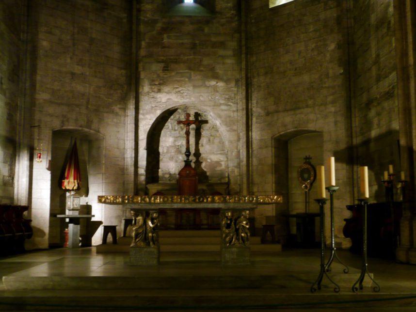 Аббатство Сен-Виктор,церковь