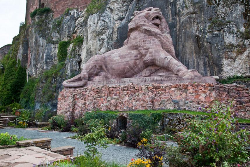 Скульптура Бельфорского льва