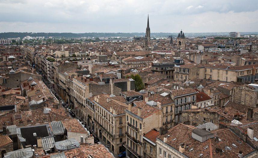 Бордо, панорама города