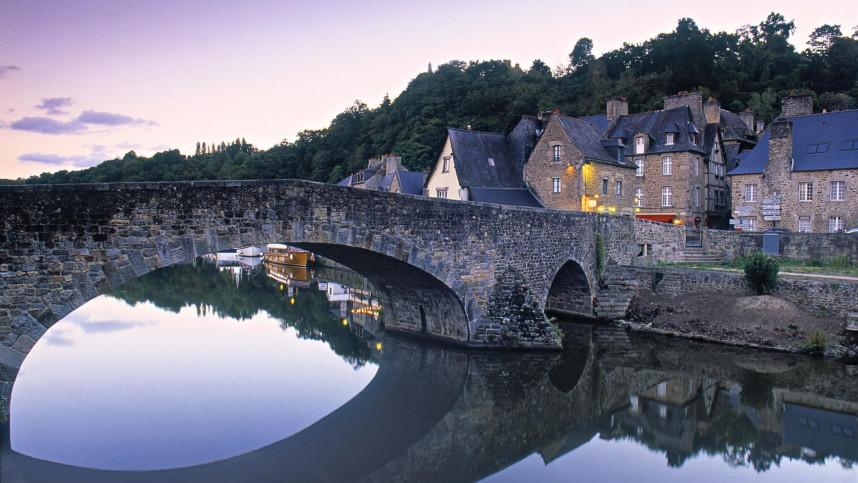 Бретань, мост