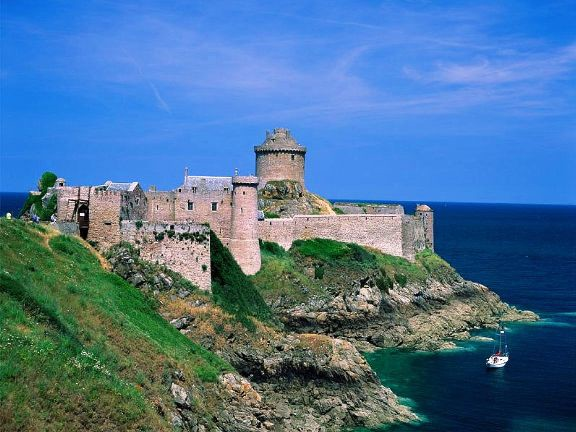 Бретань, море