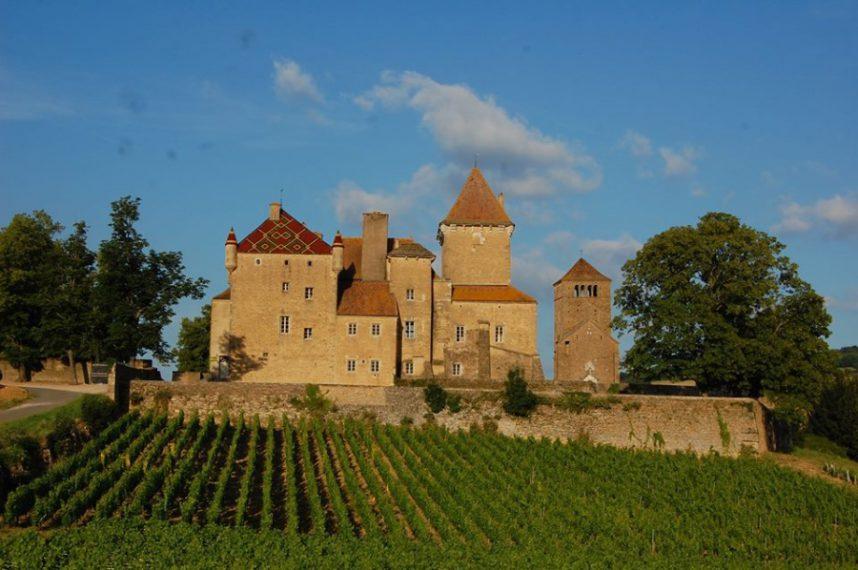 Замок Пьеркло, Бургундия