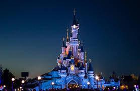 Диснейленд в Париже, вечер
