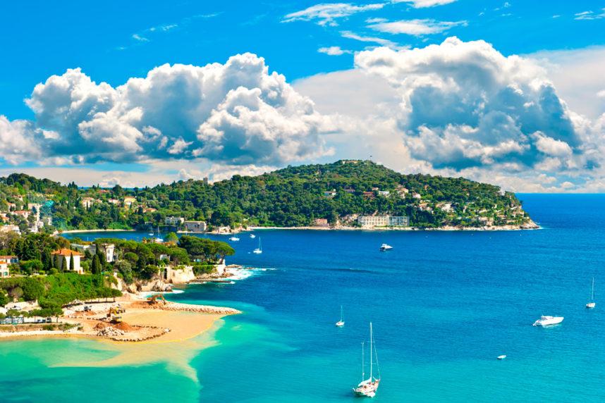 Лазурный берег Франции,Ницца