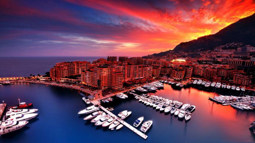 Лазурный берег Франции,Монако