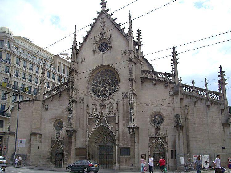 Собор Св.Иоанна Крестителя в Лионе