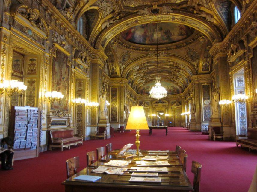 Люксембургский дворец, интерьер