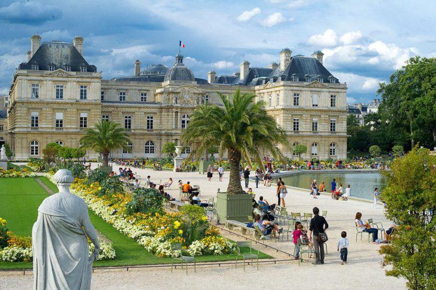 Люксембургский сад и дворец, Париж