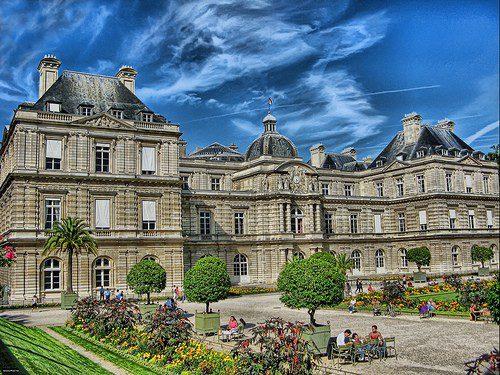 Место заседаний французского Сената, Люксембургский дворец