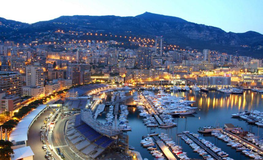 Вечерний город Марсель