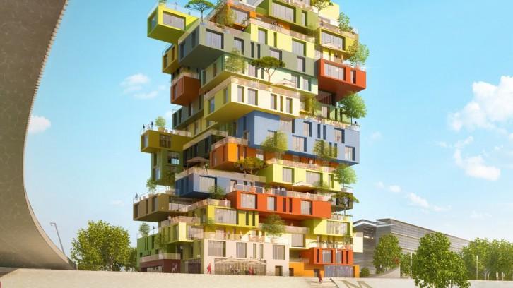 Монпелье, проект жилого дома