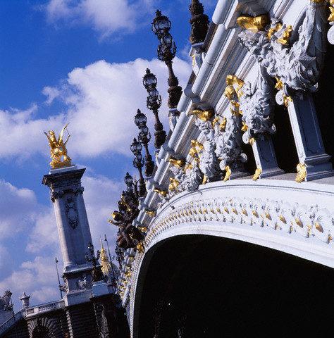 Архитектура моста Александра III