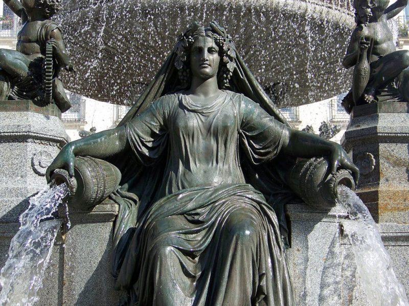 Музей изящных искусств, фонтан