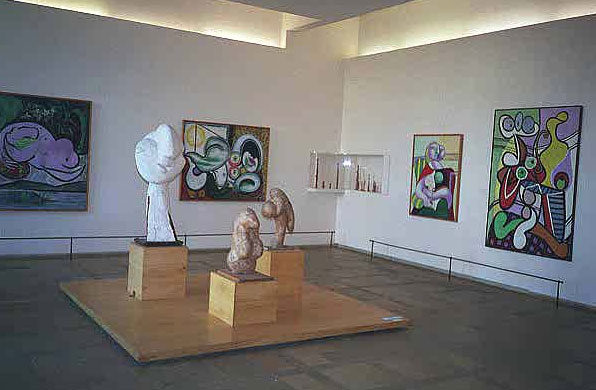 Экспонаты музея Пикассо в Париже