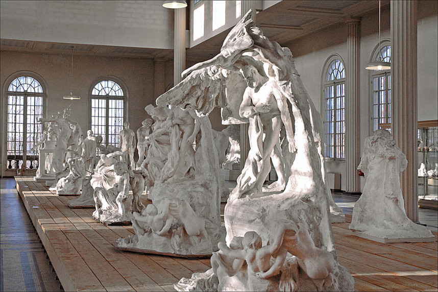 Музей Родена, скульптуры