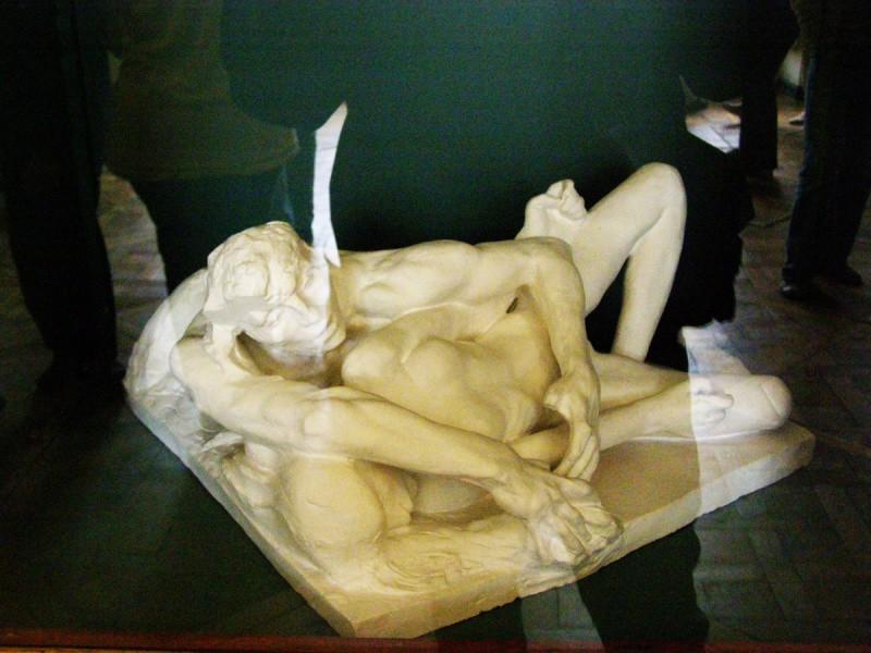 Экспонат музея Родена в Париже