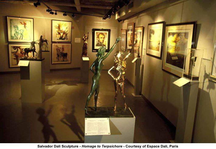 Музей Сальвадора Дали, оформление музея