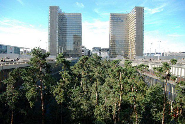 Новое хранилище Национальной библиотеки Франции им. Франсуа Миттерана
