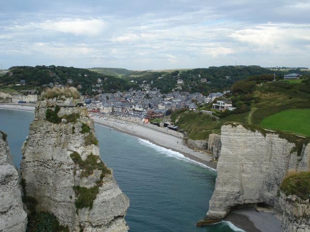 Нормандия,море
