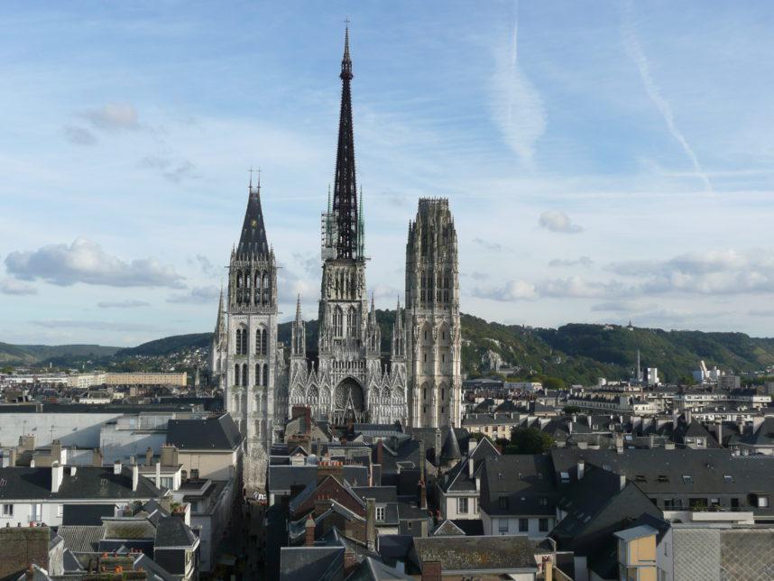 Вид на Руанский собор