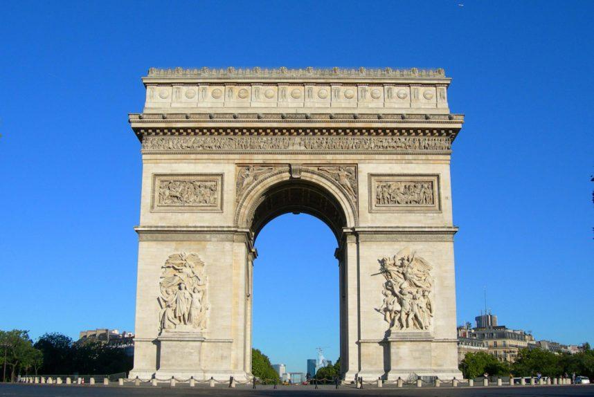 Парижская Триумфальная арка