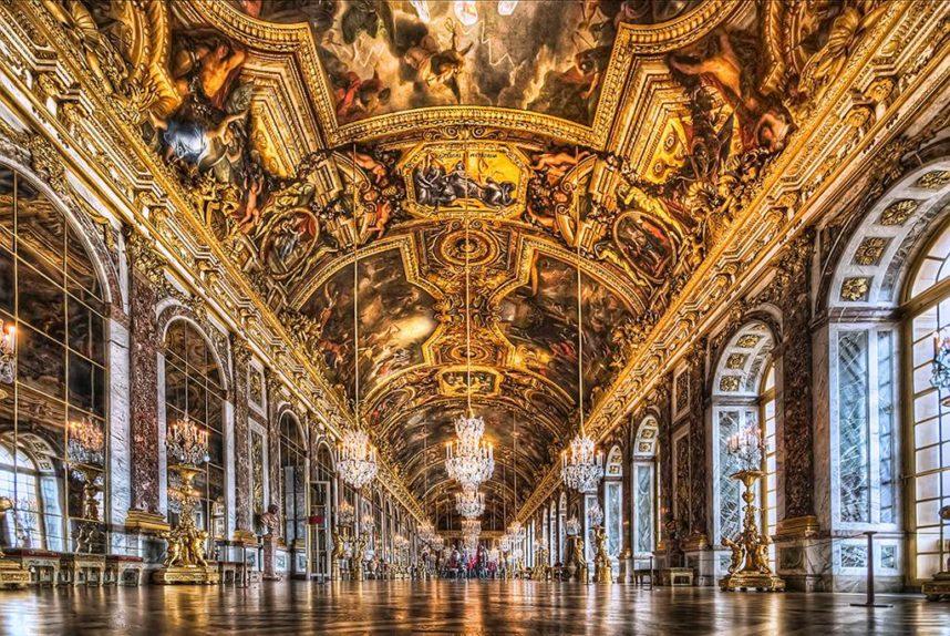 Версальский дворец внутри