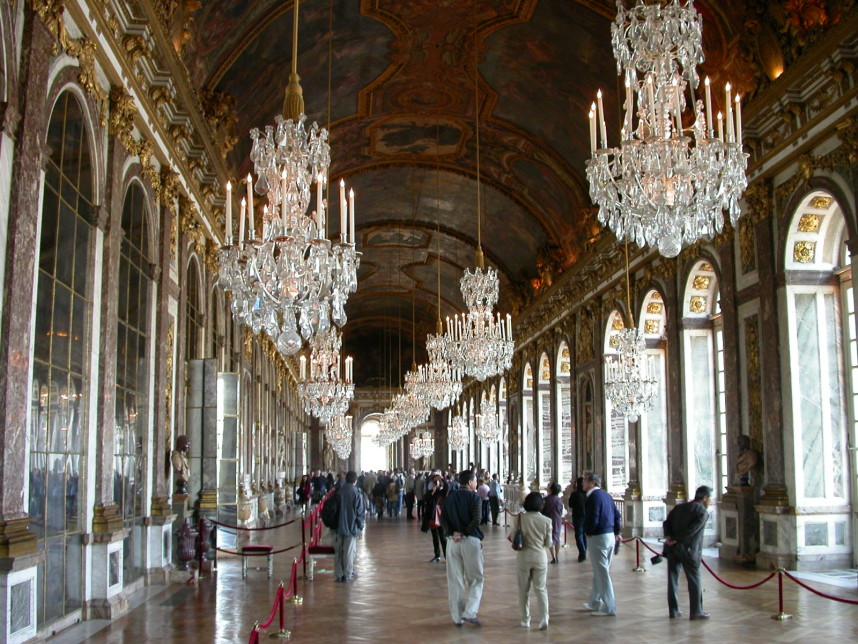 Версальский дворец, экскурсия