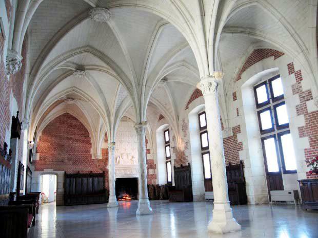 Замок Амбуаз, внутри