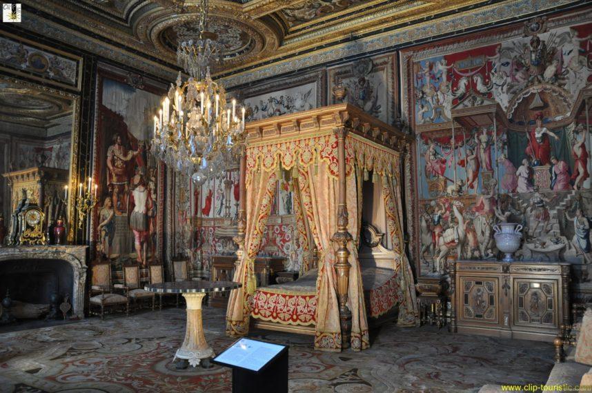 Замок Фонтенбло, Интерьер