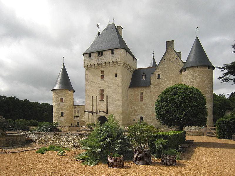 Замок Луары, Шинон