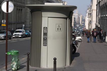Туалеты на территории Франции