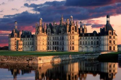 Замок Шамбор — совершенная симметрия