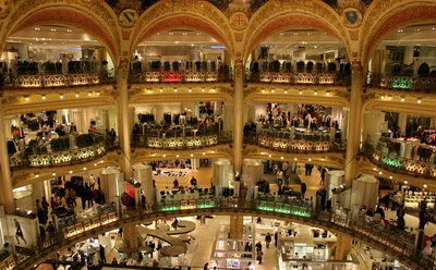 Главные магазины Парижа