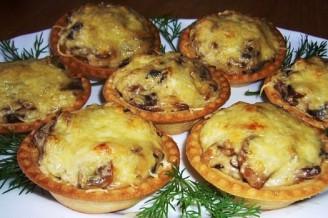 Жюльен с грибами: рецепт блюда и его история
