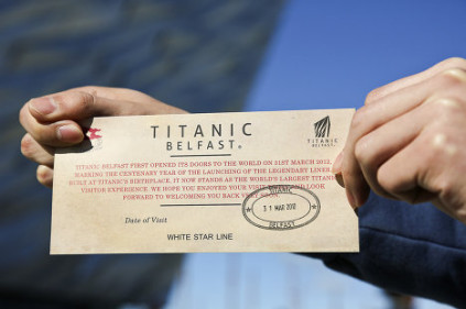 """Выставка, посвященная """"Титанику"""", открылась в Париже"""