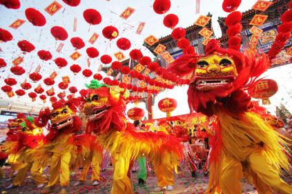 В Париже в конце февраля стартует карнавал в китайском стиле