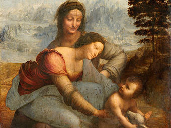 Последний шедевр да Винчи выставят в картинной галерее Лувра