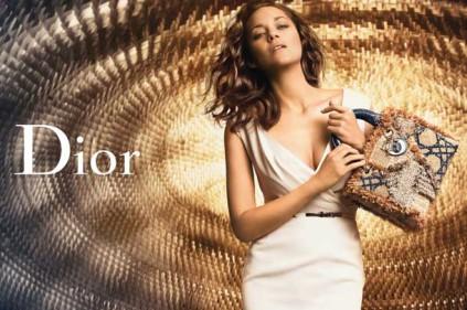 Марион Котийяр вновь стала лицом рекламной компании Dior