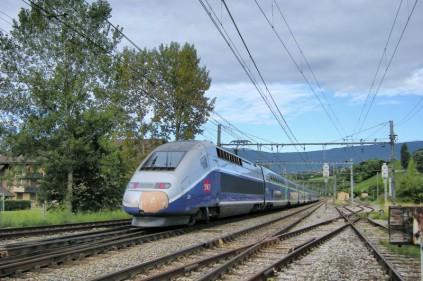 Новый поезд соединит Марсель и Франкфурт