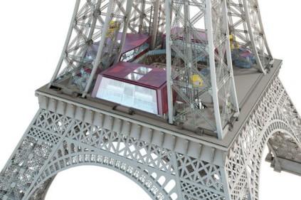 Эйфелева башня в Париже переживёт третью реконструкцию